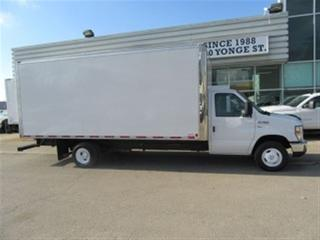 Used 2016 Ford E450 Gas 18 ft cube van high box for sale in Richmond Hill, ON