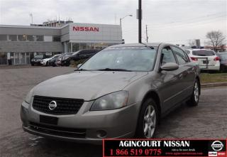 Used 2005 Nissan Altima 4Dr Sedan 2.5 SL at |AS-IS SUPER SAVER| for sale in Scarborough, ON