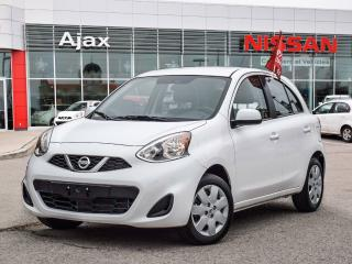 Used 2017 Nissan Micra 1.6 S at Low Kms*Bluetooth*AC for sale in Ajax, ON