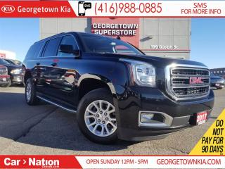 Used 2017 GMC Yukon XL SLE BACK UP CAM 8 SEATS 4X4 LOADED OPTIONS for sale in Georgetown, ON