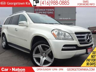 Used 2011 Mercedes-Benz GL-Class NAVI | DVD | ROOF | 7 PASS | AWD | BACK UP CAM for sale in Georgetown, ON