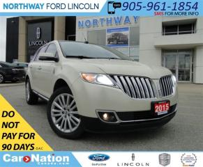 Used 2015 Lincoln MKX NAV | PANO ROOF | HEATED SEATS | REAR CAMERA | for sale in Brantford, ON