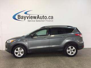 Used 2014 Ford Escape SE- ECOBOOST|4WD|HITCH|HTD STS|REV CAM|SYNC! for sale in Belleville, ON