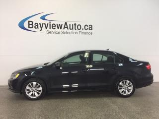 Used 2015 Volkswagen Jetta TRENDLINE- TDI|AUTO|ALLOYS|HTD SEATS|REV CAM! for sale in Belleville, ON