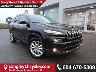 Used 2017 Jeep Cherokee Limited for sale in Surrey, BC
