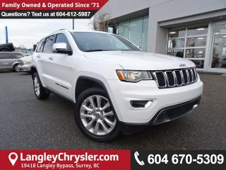 Used 2017 Jeep Grand Cherokee Limited 5.7L V8 HEMI *ACCIDENT FREE SUV* for sale in Surrey, BC