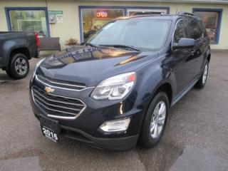 Used 2016 Chevrolet Equinox POWER EQUIPPED LT MODEL 5 PASSENGER 2.4L - ECO-TEC.. AUX/USB INPUT.. BACK-UP CAMERA.. BLUETOOTH SYSTEM.. HEATED SEATS.. for sale in Bradford, ON