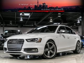 Used 2015 Audi S4 TECHNIK|SPORT DIFF|NAVI|BLINDSPOT|REAR CAM|PUSH START|DRIVE SELECT for sale in North York, ON