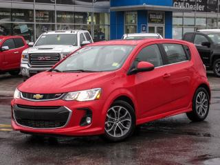 Used 2017 Chevrolet Sonic LT, RS, SUNROOF, AUTO, TRUE NORTH, REAR VISION! for sale in Ottawa, ON