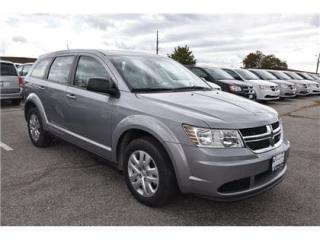 Used 2018 Dodge Journey CVP|KEYLESS ENTRY|PUSH BUTTON START|UCONNECT TOUCH for sale in Concord, ON