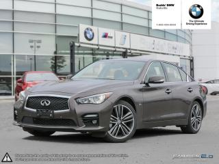 Used 2016 Infiniti Q50 3.0t AWD for sale in Oakville, ON