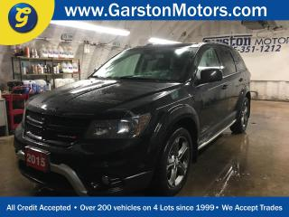 Used 2015 Dodge Journey CROSSROAD*AWD*7 PASSENGER*NAVIGATION*BACK UP CAMERA*LEATHER*POWER SUNROOF*TRI ZONE CLIMATE CONTROL w/REAR AIR CONTROL*U CONNECT PHONE*KEYLESS ENTRY w/ for sale in Cambridge, ON