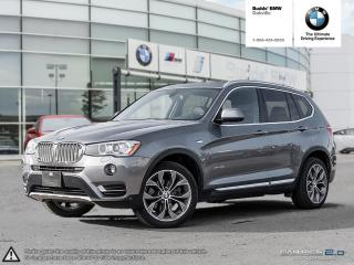 Used 2017 BMW X3 xDrive28i AWD | PANORAMA SUNROOF | NAVIGATION for sale in Oakville, ON