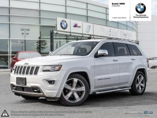 Used 2014 Jeep Grand Cherokee 4x4 Overland 4X4 | REAR VIEW CAMERA | NAVIGATION for sale in Oakville, ON