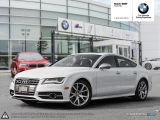 Used 2013 Audi S7 4.0T Sportback 7sp S Tronic qtro AWD | NAVIGATION | REAR VIEW CAMERA for sale in Oakville, ON
