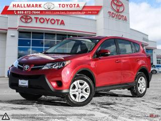 Used 2015 Toyota RAV4 AWD LE for sale in Mono, ON