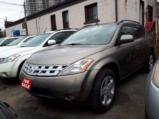 Used 2004 Nissan Murano SE,AWD,Alloy Wheels for sale in Scarborough, ON
