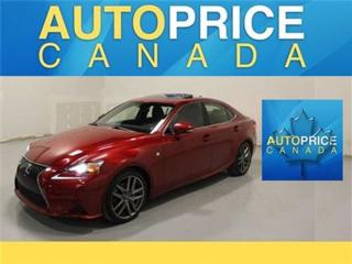 Used 2014 Lexus IS 250 F-SPORT NAVIGATION REAR CAM for sale in Mississauga, ON