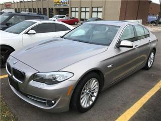 Used 2013 BMW 5 Series xDrive TECH PKG NAVIGATION for sale in Mississauga, ON