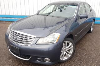 Used 2010 Infiniti M35x AWD *LEATHER-SUNROOF-NAVIGATION* for sale in Kitchener, ON