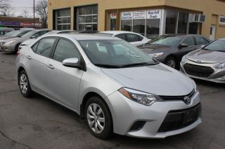 Used 2016 Toyota Corolla LE Bluetooth Heated Seats for sale in Brampton, ON