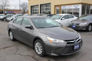 Used 2015 Toyota Camry LE Hybrid for sale in Brampton, ON