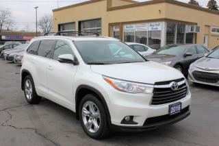 Used 2016 Toyota Highlander LIMITED  for sale in Brampton, ON
