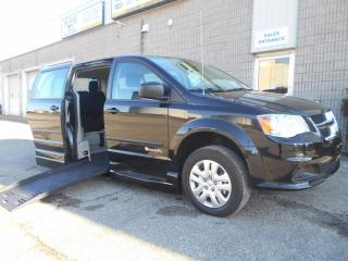 Used 2017 Dodge Grand Caravan CVP- Wheelchair Accessible Side Entry Conversion for sale in London, ON