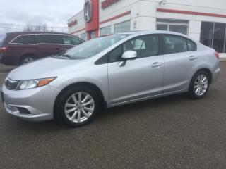 Used 2012 Honda Civic EX for sale in Smiths Falls, ON