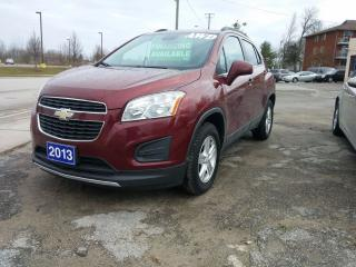 Used 2013 Chevrolet Trax LT for sale in Orillia, ON