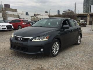 Used 2011 Lexus CT 200h Hybrid, Only 50,500 km for sale in Scarborough, ON