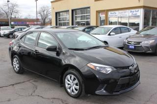 Used 2016 Toyota Corolla LE Heated Seats Bluetooth for sale in Brampton, ON