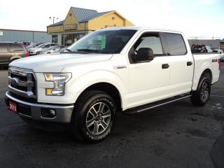 Used 2015 Ford F-150 XLT SuperCrew 4X4 5.0L 5ft Box for sale in Brantford, ON
