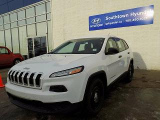 Used 2016 Jeep Cherokee BLUETOOTH/POWER OPTIONS/AC for sale in Edmonton, AB