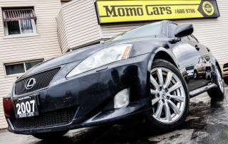 Used 2007 Lexus IS 350 Htd Seats+AuxIn+Cruise! ONLY $161/bi-weekly! for sale in St Catharines, ON