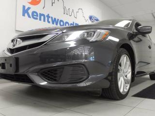 Used 2016 Acura ILX ILX- It's the real deal! Heated leather seats, sunroof, back up cam, lane departure for sale in Edmonton, AB