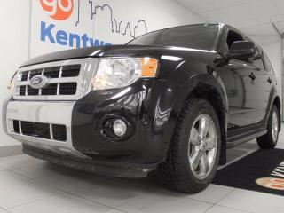 Used 2010 Ford Escape Limited- sunroof, heater power leather seats, back up cam for sale in Edmonton, AB