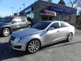 Used 2014 Cadillac ATS * SUNROOF * NAV for sale in Windsor, ON