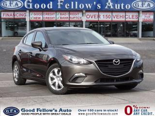Used 2014 Mazda MAZDA3 SPORT PACKAGR, GX MODEL, SKYACTIV for sale in North York, ON
