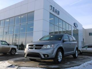 Used 2015 Dodge Journey SXT, ACCIDENT FREE, ROOF RAILS, BLUETOOTH, TRI-ZONE CLIMATE CONTROL, CRUISE, KEYLESS ENTRY, CLTH, FWD for sale in Edmonton, AB