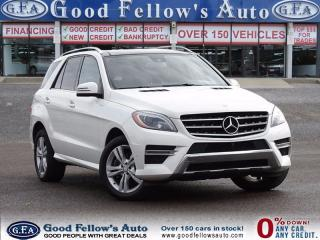 Used 2014 Mercedes-Benz ML 350 BLUETEC, SUNROOF, LEATHER SEATS, NAV, CAMERA for sale in North York, ON