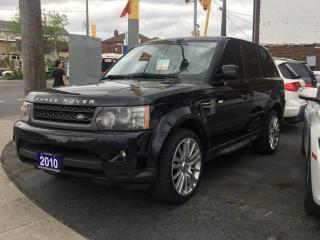Used 2010 Land Rover Range Rover Sport LUX for sale in York, ON
