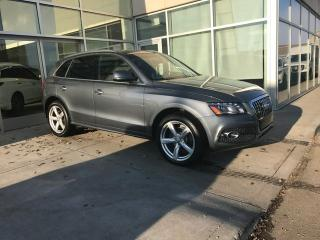Used 2012 Audi Q5 NAVIGATION/SIDE ASSIST/HEATED SEATS for sale in Edmonton, AB