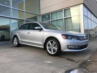 Used 2015 Volkswagen Passat NAVIGATION/HEATED SEATS/BACK UP CAMERA/SUNROOF for sale in Edmonton, AB