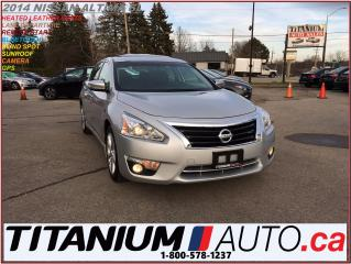 Used 2014 Nissan Altima SL+GPS+Camera+Blind Spot & Lane+Heated Leather+Sun for sale in London, ON