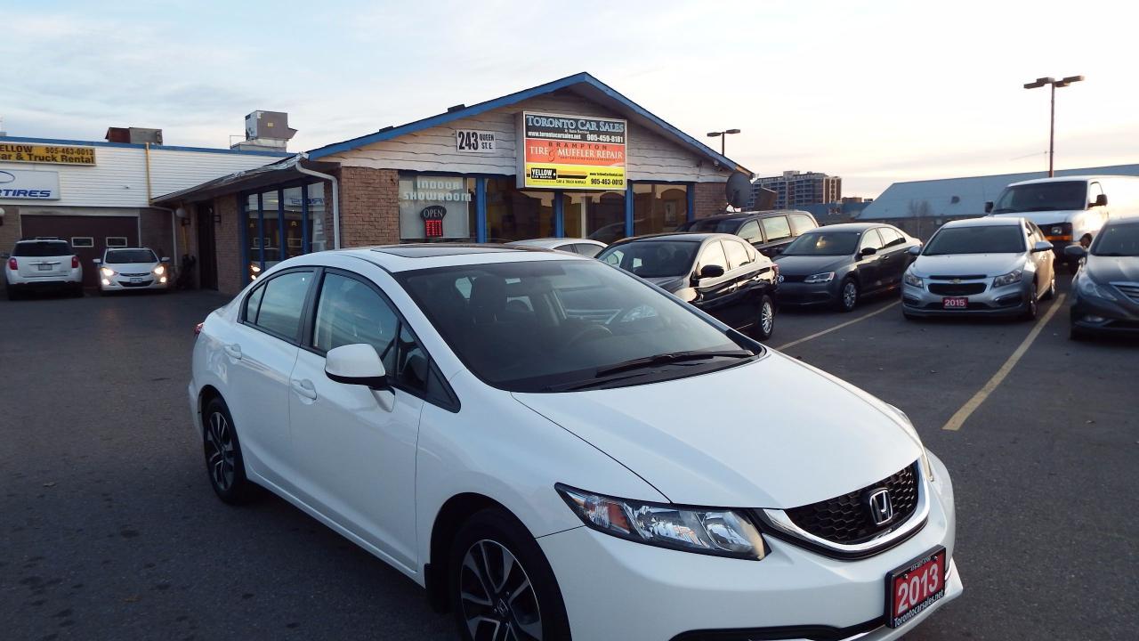 2013 Honda Civic EX/AUTO/SUNROOF/BACKUP CAMERA/$13000