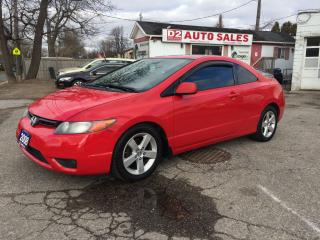 Used 2008 Honda Civic Automatic/Sunroof/Gas Saver/Winter Tires/Certified for sale in Scarborough, ON