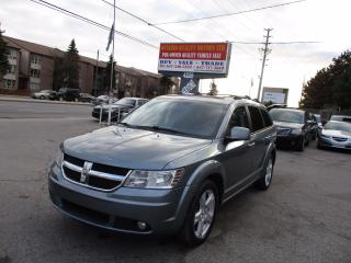 Used 2010 Dodge Journey R/T ,LEATHER,SUNROOF FULLY !!!!!!!!!!! for sale in Scarborough, ON
