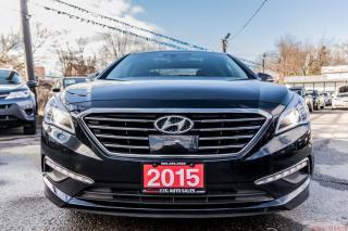 Used 2015 Hyundai Sonata LIMITED/PANORAMA ROOF/ACCIDENT FREE/NAVI/BK-UP CAM for sale in Brampton, ON