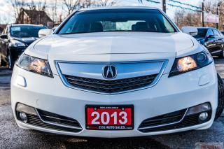 Used 2013 Acura TL TECH PACKAGE/ACCIDENT FREE/BLIND SPOT SENSORS/NAV for sale in Brampton, ON